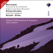 Mussorgsky: Pictures At An Exhibition; Night on the Bare Mountain; Rimsky-Korsakov: Capriccio Espagnol