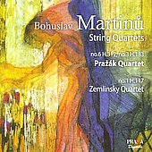 Martinu: String Quartets