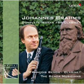 Johannes Brahms: Complete Works for Clarinet