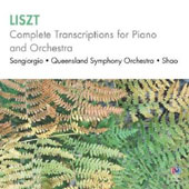 Liszt: Complete Transcriptions for Piano and Orchestra / Victor Sangiorgio, piano; Queensland SO; Shao