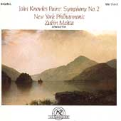 Paine: Symphony no 2 / Mehta, New York Philharmonic