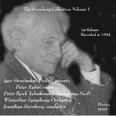 The Sternberg Collection, Vol. 1 / Tchaikovsky: Symphony no 6; Stravinsky: Violin Concerto / Peter Rybar, violin