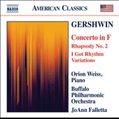 Gershwin: Concerto in F; Rhapsody No. 2 / Orio Weiss, piano