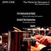 John Cage: Works For Percussion, Vol. 2 / Third Coast Percussion