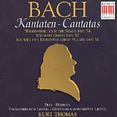 Bach: Cantatas BWV 54, 82 & 56 / Kurt Thomas, Hoffgen, Prey