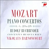 Mozart: Piano Concertos Nos. 23 & 25 / Rudolf Buchbinder, piano