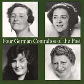 Four German Contraltos of the Past