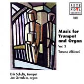 Albinoni: Trumpet and Organ Music Vol 2 / Schultz, Overduin