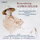 Remembering Alfred Deller - works by Blow, Fricker, Handel, Ridout, Tippett et al. / James Bowman & Robin Blaze, countertenors