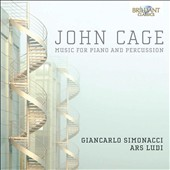 John Cage: Music for Piano and Percussion / Ars Ludi, Simonacci
