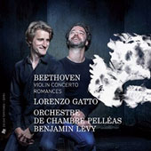 Beethoven: Violin Concerto; Romances for violin & orchestra nos. 1 & 2 / Lorenzo Gatto, violin