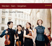 Music for String Quartet by Martin Derungs, Anton Webern, Joseph Haydn Toshiro Mayuzumi / Pacific Quartet Vienna