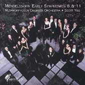 Mendelssohn: Early Symphonies 8 & 11 / Yoo, Metamorphosen