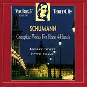 Schumann: The Complete Works For Piano 4-Hands / Andras Schiff, Peter Frankl