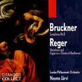 Bruckner: Symphony no 8;  Reger / J&auml;rvi, London Philharmonic