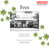 Classics - Ives: Symphonies no 1 & 2 / Järvi, Detroit SO