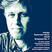 D. Matthews: Symphony no 4, Cantiga, etc / Nabarro, et al