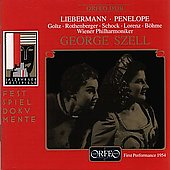 Liebermann: Penelope / Szell, Goltz, Rothenberger, Schock