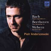 Bach, Beethoven, Webern / Piotr Anderszewski