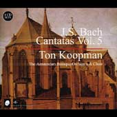 J.S. Bach: Cantatas Vol 5 / Koopman, Amsterdam Baroque