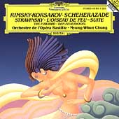 Rimsky-Korsakov: Scheherezade;  Stravinsky / Chung