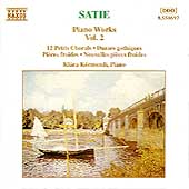 Satie: Piano Works Vol 2 / Klára Körmendi