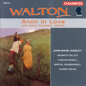 Walton: Anon in Love, etc / Ainsley, Sillito, Bonell, et al