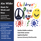 Wilder: Music for Winds and Brass / Schuller, Terkel, et al