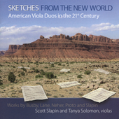 Sketches from the New World / Slapin, Solomon