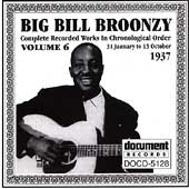 Big Bill Broonzy: Complete Recorded Works, Vol. 6 (1937)