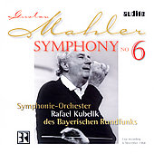 Mahler: Symphony no 6 / Rafael Kubelik, Bavarian Radio SO