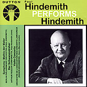 Hindemith Performs Hindemith