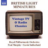British Light Miniatures - Vintage TV & Radio Classics