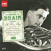 Icon - Dennis Brain - The Horn Player Performs Mozart, Strauss, Beethoven, et al