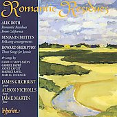 Roth: Romantic Residues, etc;  Britten, Skempton, etc / Gilchrist, Nicholls, Martin