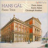 Hans Gál: Piano Trios / Karin and Doris Adam, Christopher Stradner
