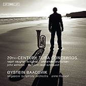 20th Century Tuba Concertos - Arutiunian, Lundquist, Williams, Vaughan Williams / Baadsvik, et al