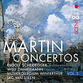 SCENE  Martin: Harpsichord Concerto, Passacaille & Polyptyque / Jac Van Steen, et al