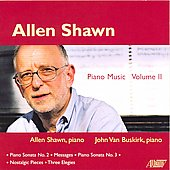 Shawn: Piano Music Vol 2