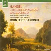 Handel: L'Allegro, il Penseroso ed il Moderato / Gardiner