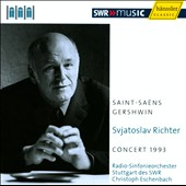 Svjatoslav Richter: Concert 1993 - Saint-Saens, Gershwin