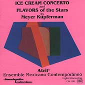 Kupferman: Ice Cream Concerto, Flavors of the Stars / Atril5