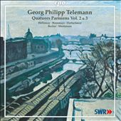 Telemann: Parisian Quartets Vol. 2 & 3