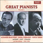 Great Pianists, Vol. 2: Brailowsky, Cherkassky, Serkin