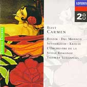 Bizet: Carmen / Schippers, Resnik, Del Monaco, Sutherland