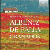 Spanish Piano Music: works by Albeniz, Granados, De Falla / Meshulam, Ortiz [6 CDs]