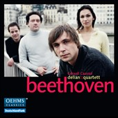 Beethoven: String Quartet Op. 18/1; Fugue Op. 137; Quintet, Op. 29 / Delian Quartet