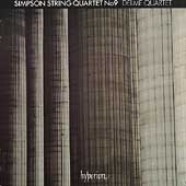 Simpson: String Quartet no 9 / Delmé Quartet