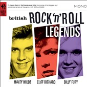 Cliff Richard/Marty Wilde/Billy Fury: British Rock 'n' Roll Legends [Snapper] [Box]