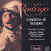 Rodrigo: Concierto de Aranjuez, etc / Garcia, Breiner
